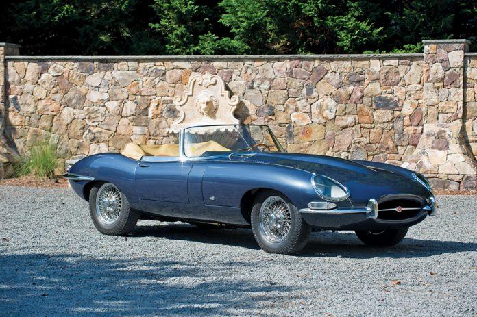 jaguar parked
