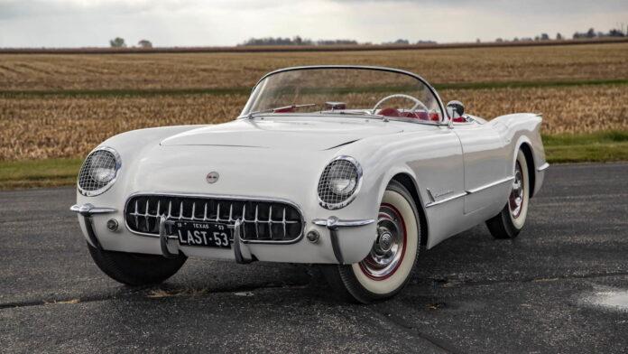 Chevrolet Corvette 1953 the last