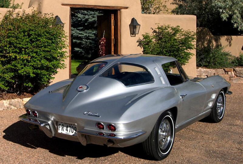 rear corvette