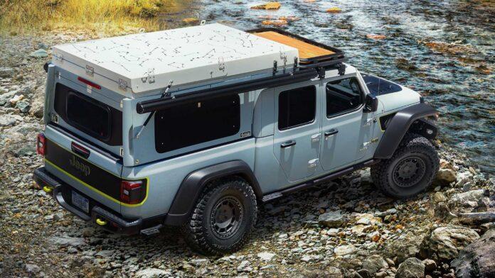 Jeep Gladiator fatour concept