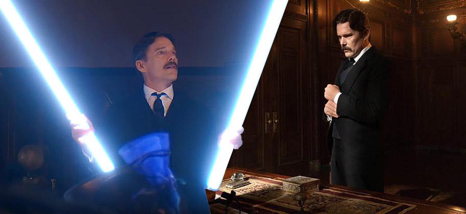 Tesla movie scene