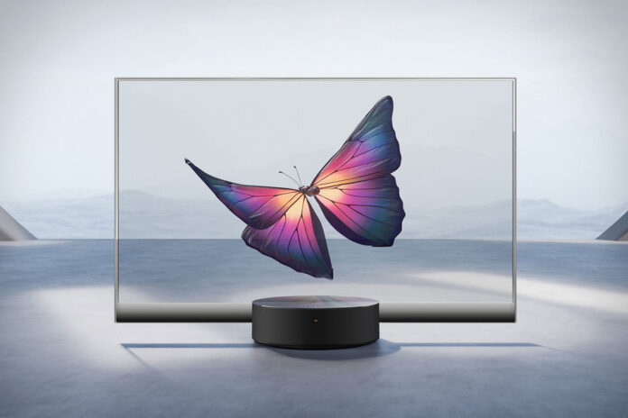 XIAOMI transparent TV