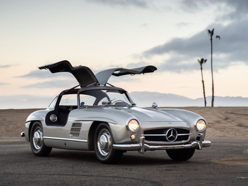 Gullwinged Mercedes