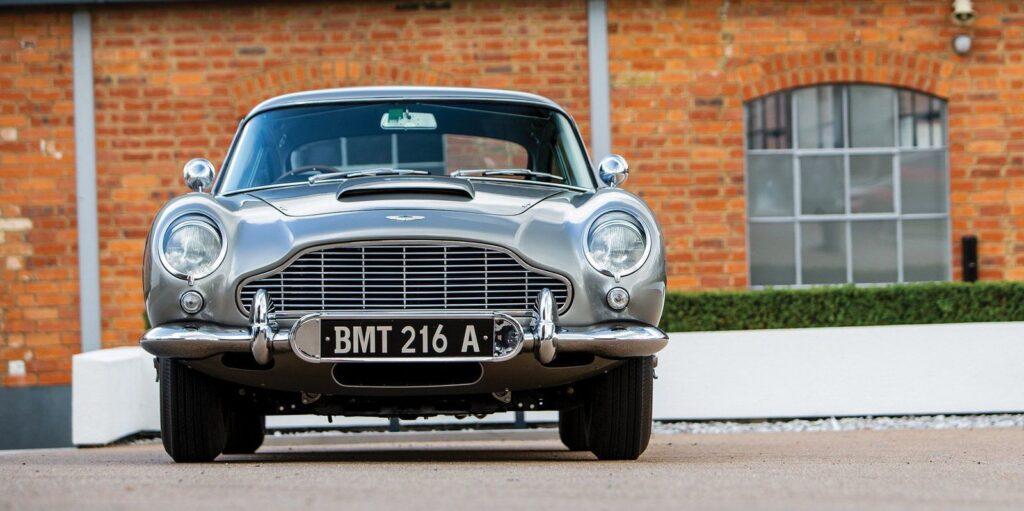 Parked Aston Martin