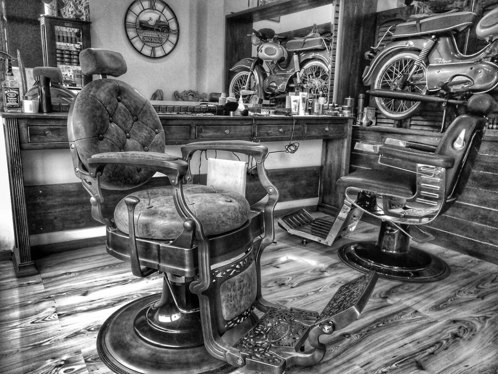 George barber shop