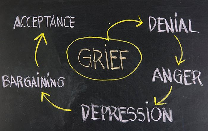 τα 5 στάδια του πένθους