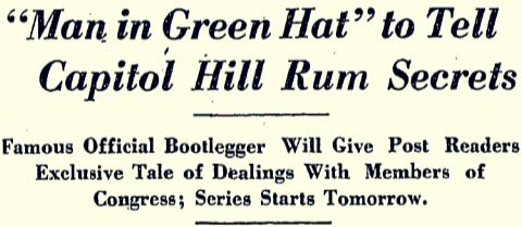 man in green hat