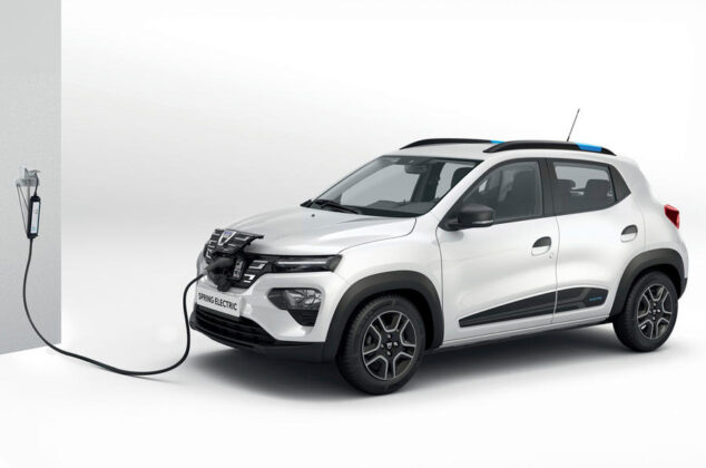 new electric by dacia