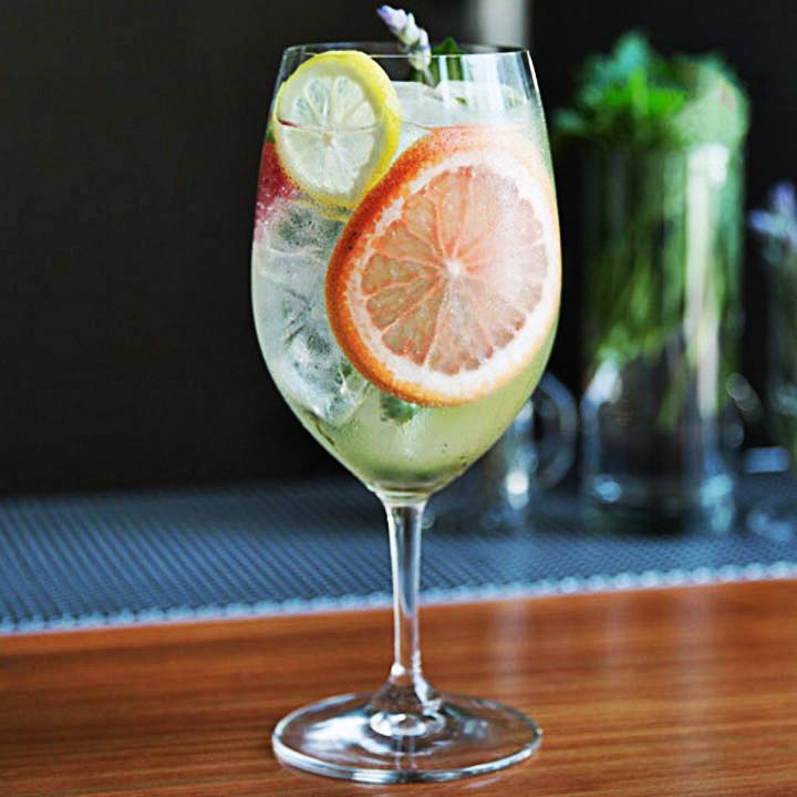 garden gin cocktails
