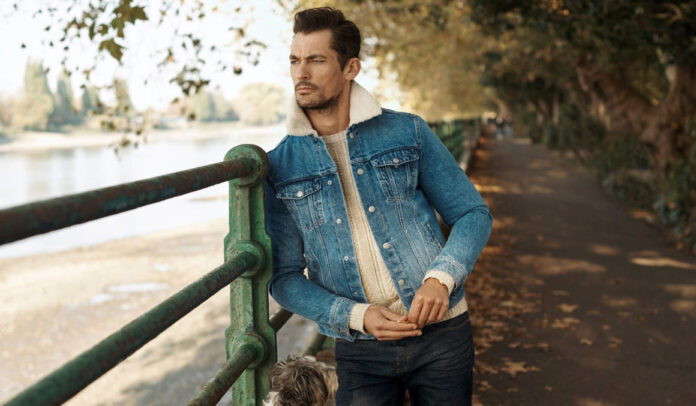 Double denim featured