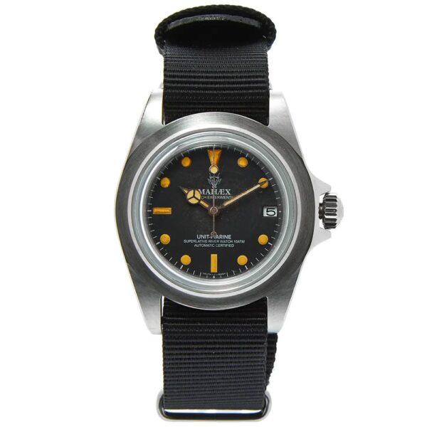 canvas strap watch